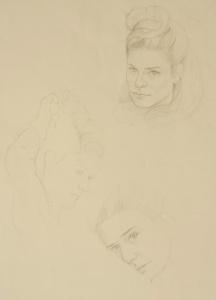 Portrait Drawings Bella