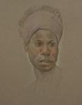 Portrait Drawings Paulette
