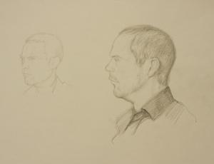 Portrait Drawings Josh