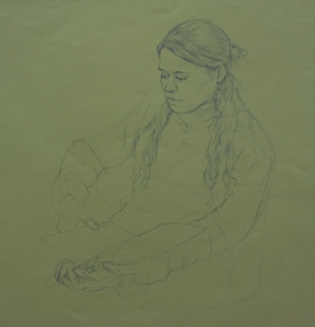Portrait Drawings Bruna